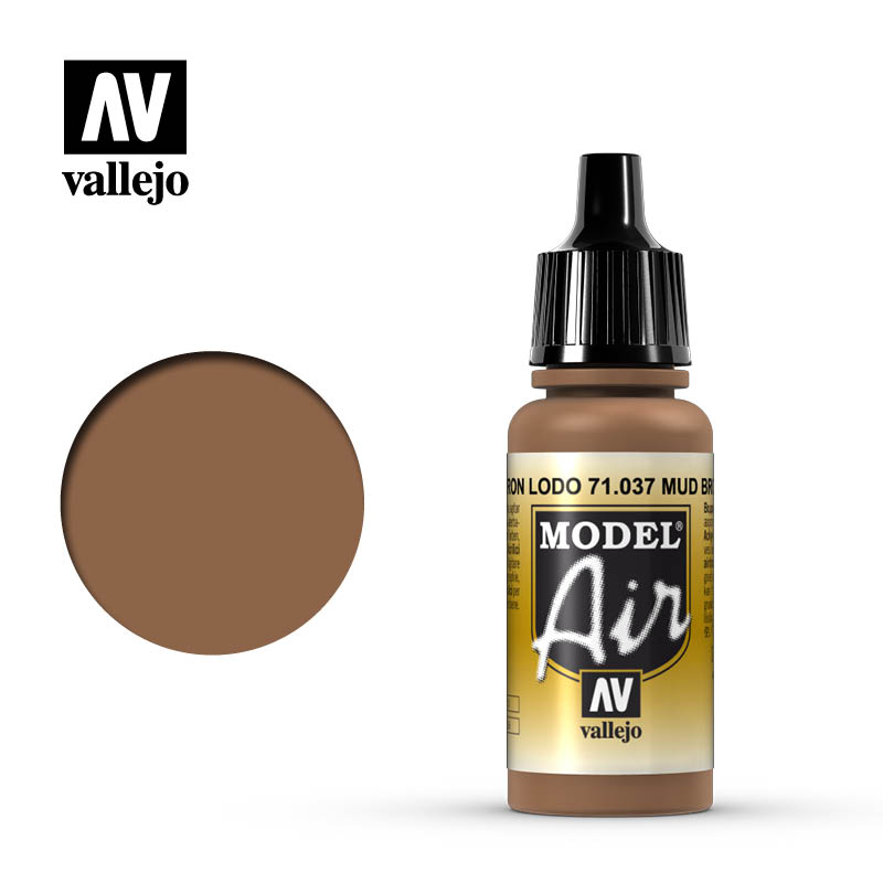 model air vallejo mud brown 71037