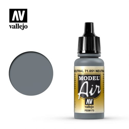 model air vallejo neutral gray 71051