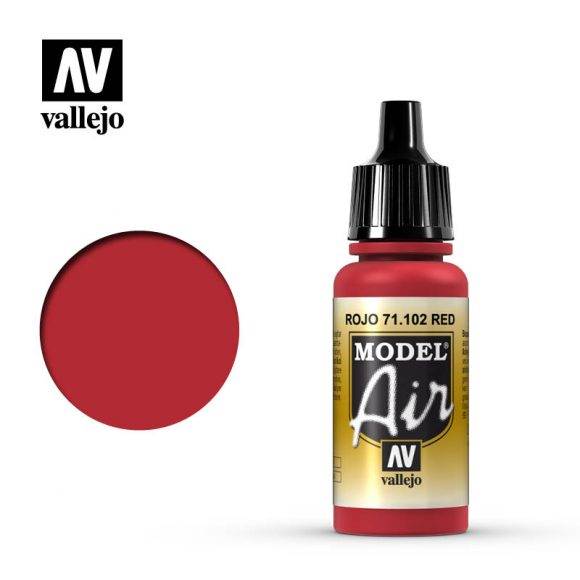 model air vallejo red 71102
