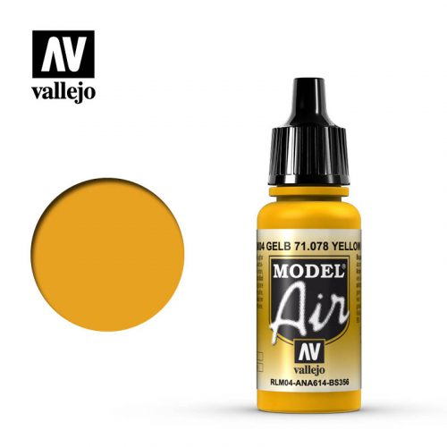 model air vallejo rlm04 yellow 71078