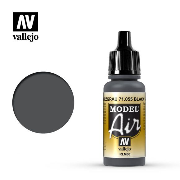 model air vallejo rlm66 black grey 71055