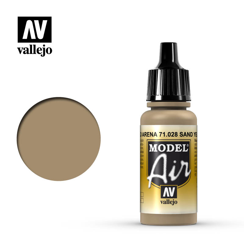 model air vallejo sand yellow 71028