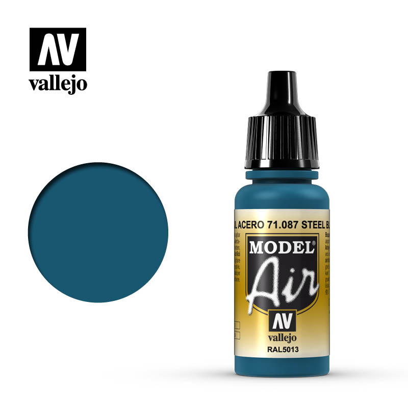 model air vallejo steel blue 71087