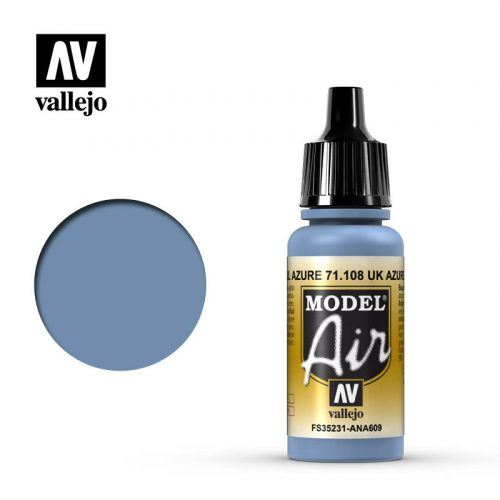 model air vallejo uk azure blue 71108