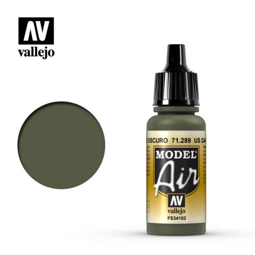model air vallejo us dark green 71289