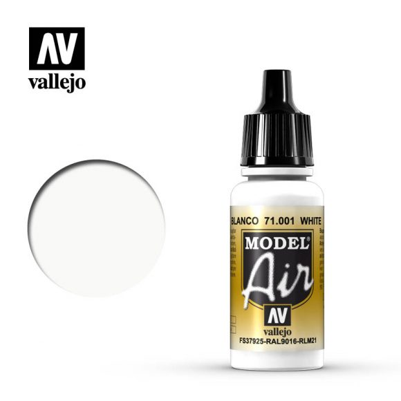 model air vallejo white 71001