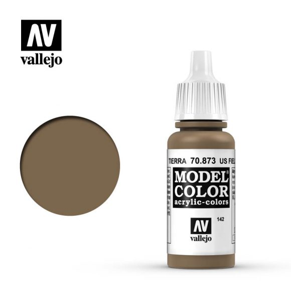 model color vallejo US field drab 70873