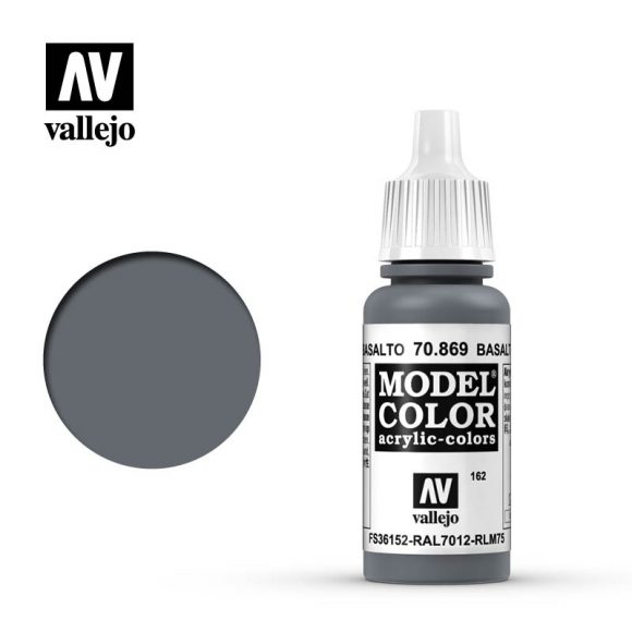 model color vallejo basalt grey 70869
