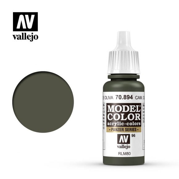 model color vallejo camouflage olive green 70894