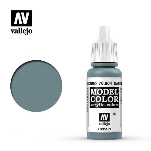 model color vallejo dark blue grey 70904