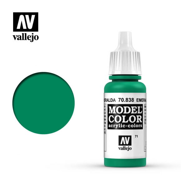 model color vallejo emerald 70838