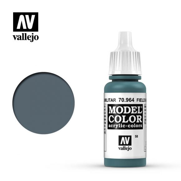 model color vallejo field blue 70964