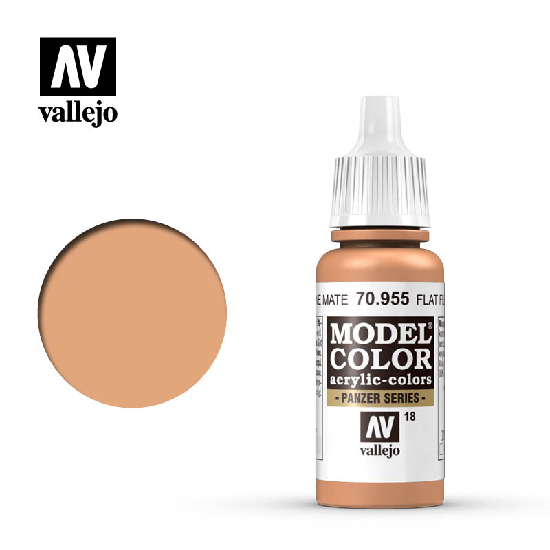 model color vallejo flat flesh 70955