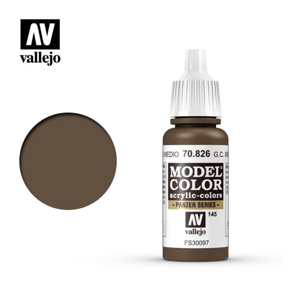 model color vallejo german camouflage med brown 70826
