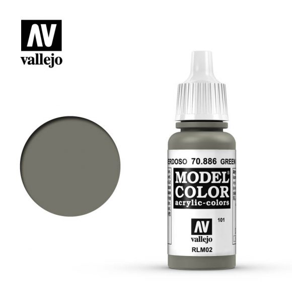 model color vallejo green grey 70886