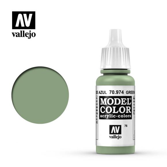 model color vallejo green sky 70974