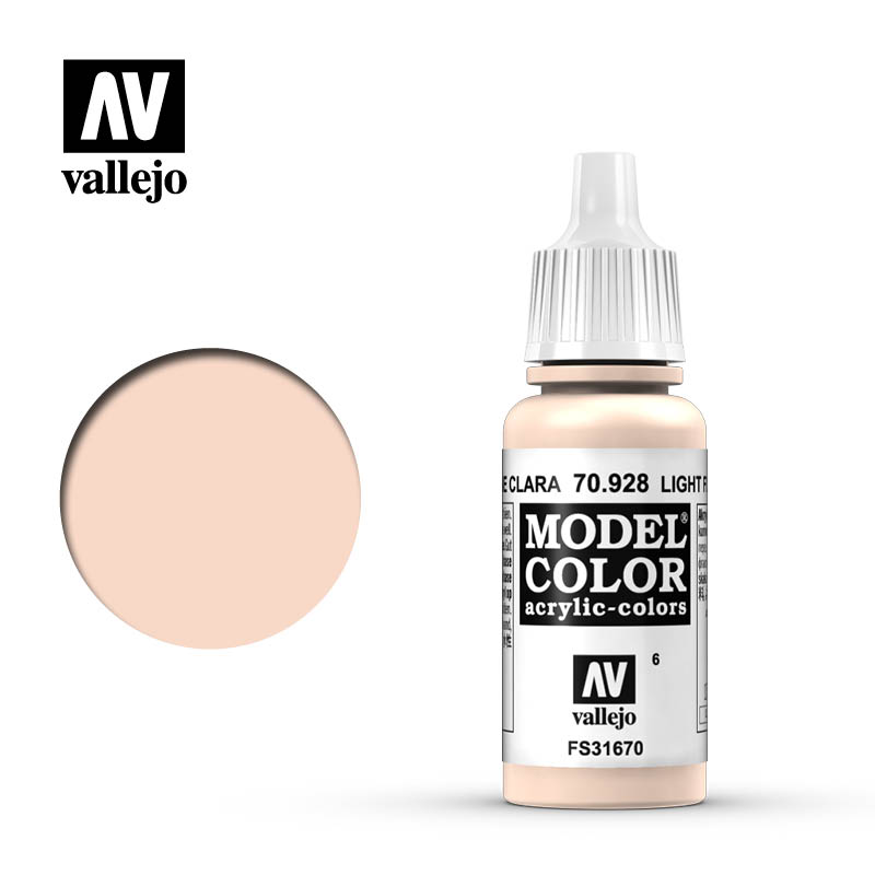 model color vallejo light flesh 70928