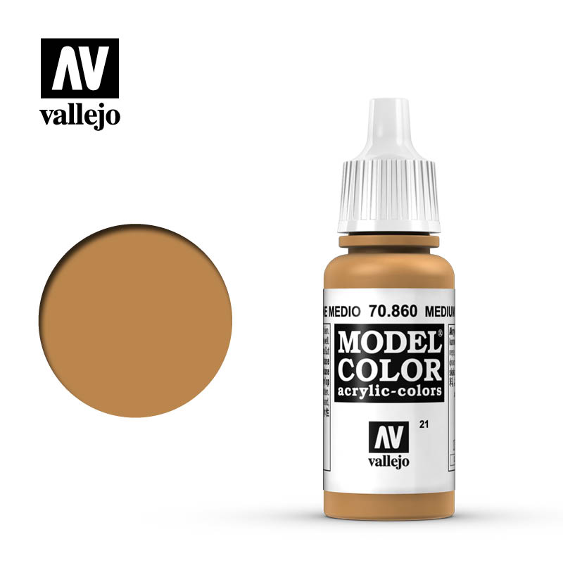 model color vallejo medium fleshtone 70860