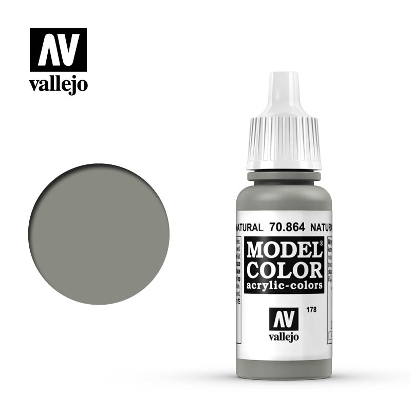 model color vallejo natural steel 70864