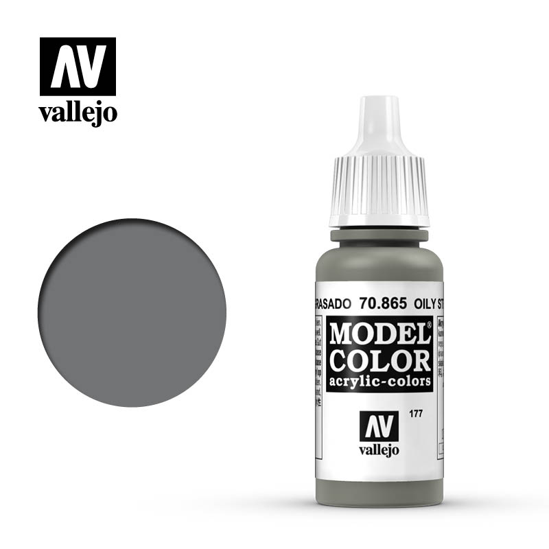 model color vallejo oily steel 70865