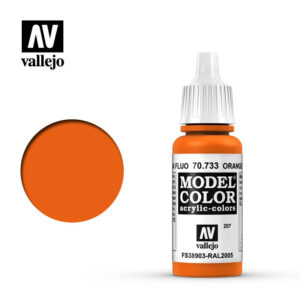model color vallejo orange fluorescent 70733