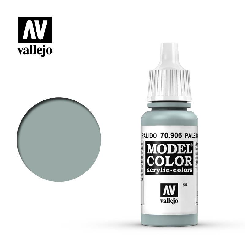 model color vallejo pale blue 70906