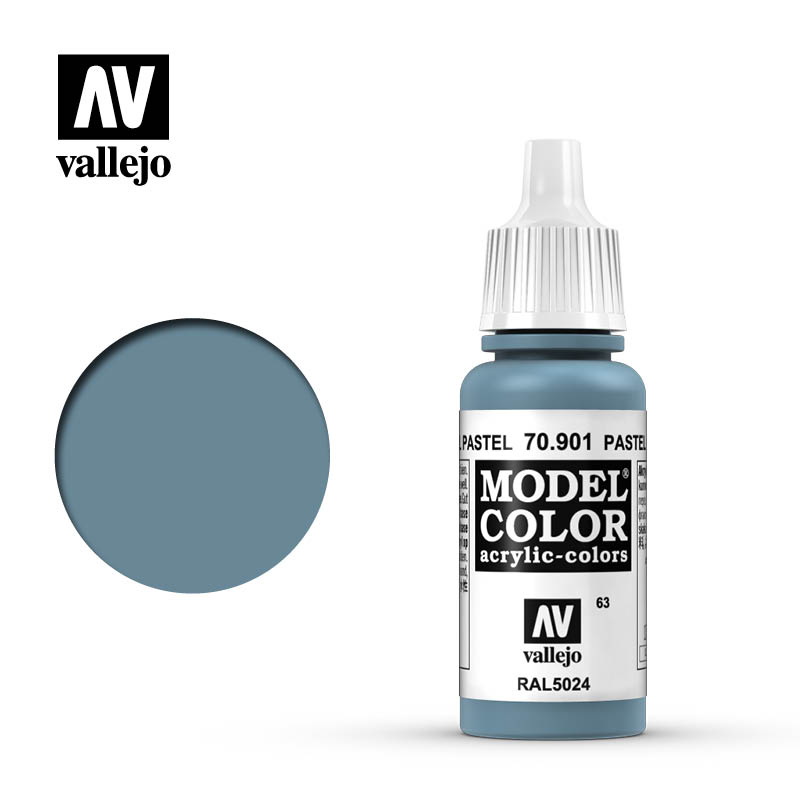 model color vallejo pastel blue 70901