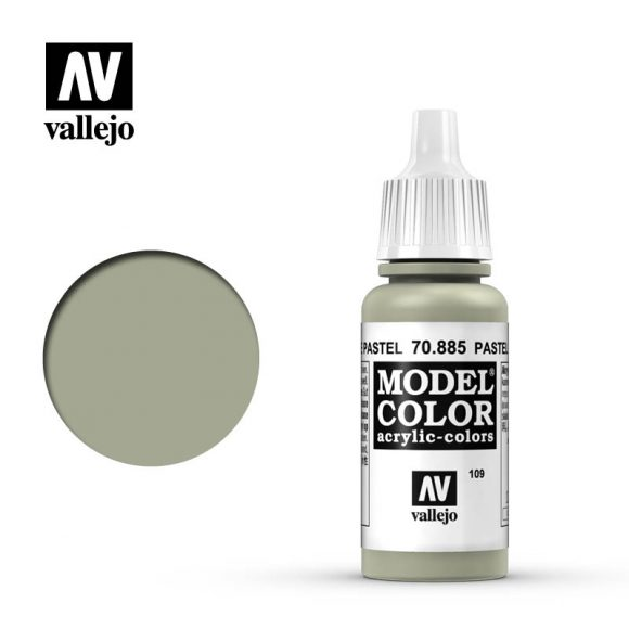 model color vallejo pastel green 70885