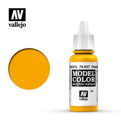 model color vallejo transparent yellow 70937