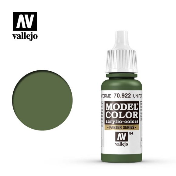 model color vallejo uniform green 70922