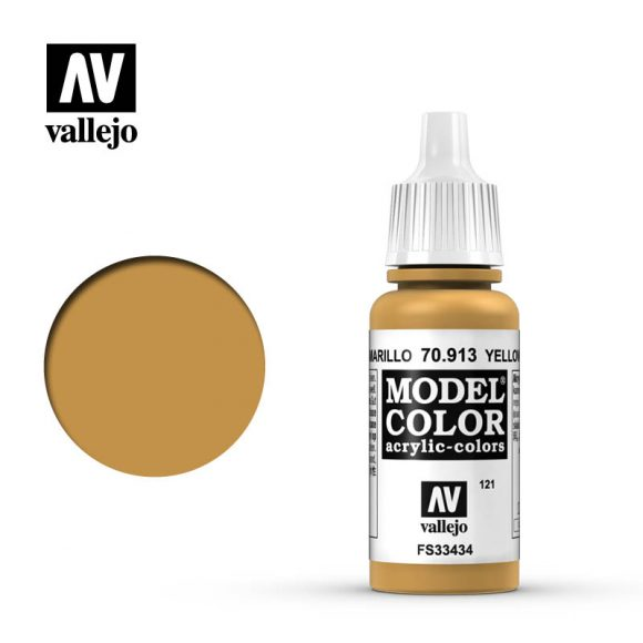 model color vallejo yellow ochre 70913