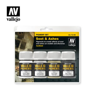 must and sand vallejo pigments set 73193