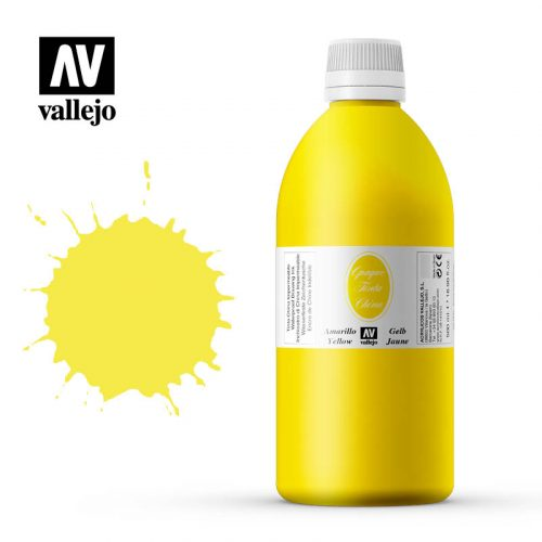 Vallejo Opaque India Ink Yellow 34060
