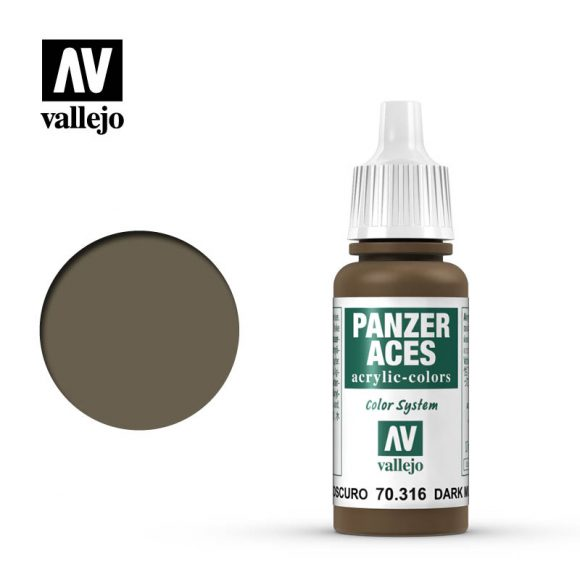 panzer aces vallejo dark mud 70316