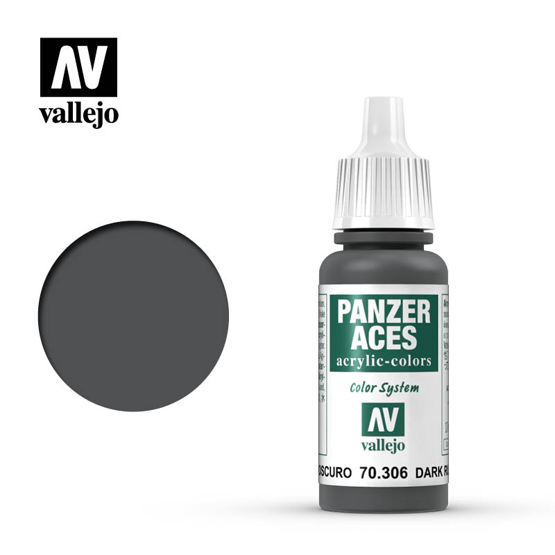 panzer aces vallejo dark rubber 70306