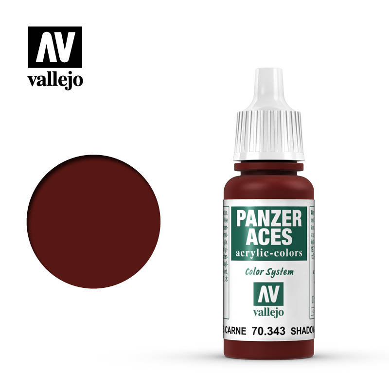 panzer aces vallejo shadows flesh 70343