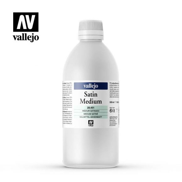 satin medium vallejo 28451 500ml