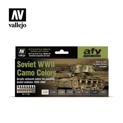 Soviet WWII Camo Colors Vallejo AFV 71188