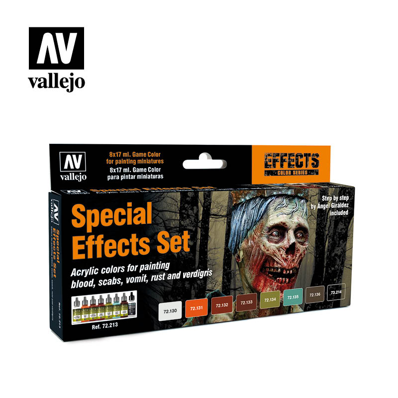 Special effects 72213 vallejo game ink effects set