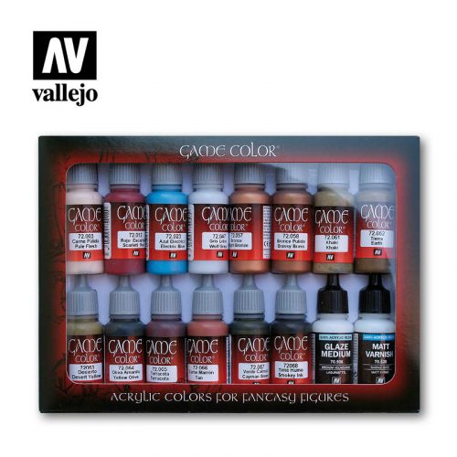 specialist 72297 vallejo game color basic set