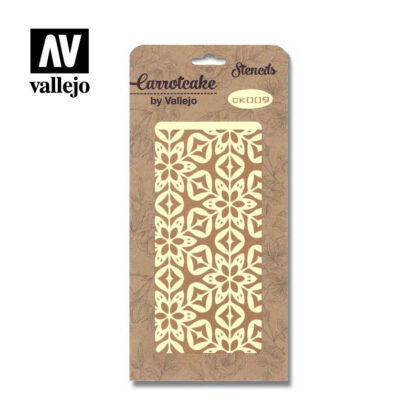 Stencil Carrotcake by vallejo Hidraulic Floor CK009