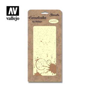 Stencil Carrotcake by vallejo Splatter CK011