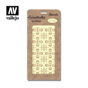 Stencil Carrotcake by vallejo Wall Tiles CK010