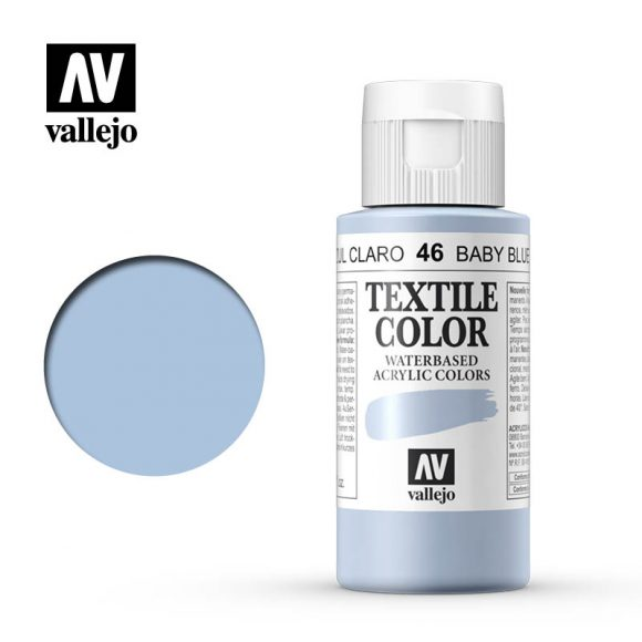 textile color vallejo baby blue 46 60ml