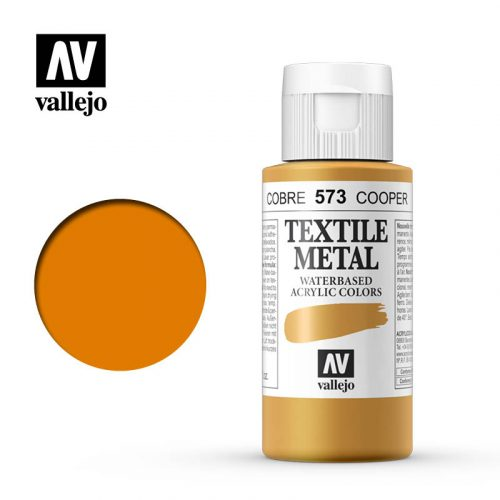 textile color vallejo copper 573 60ml