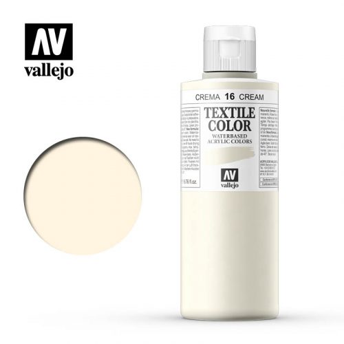 textile color vallejo cream 16 200ml