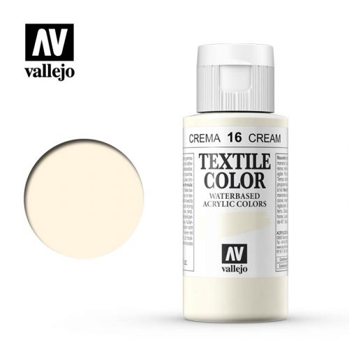 textile color vallejo cream 16 60ml