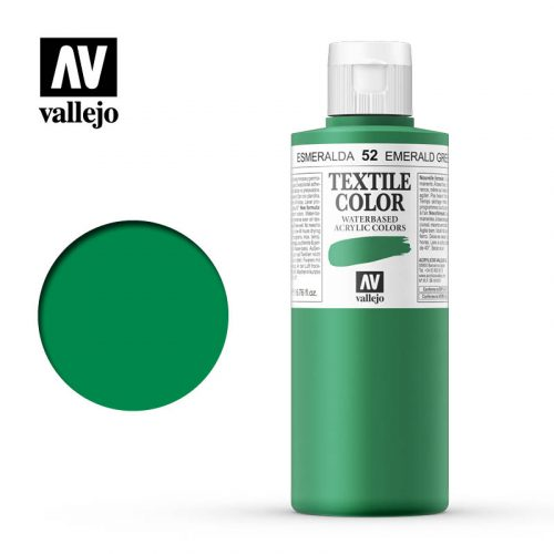 textile color vallejo emerald green 52 200ml