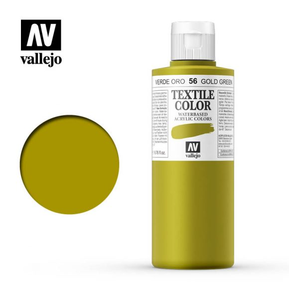 textile color vallejo gold green 56 200ml
