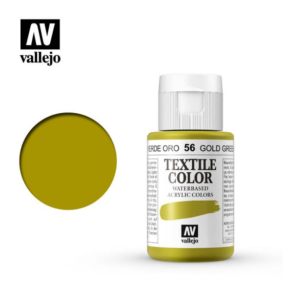 textile color vallejo gold green 56 35ml